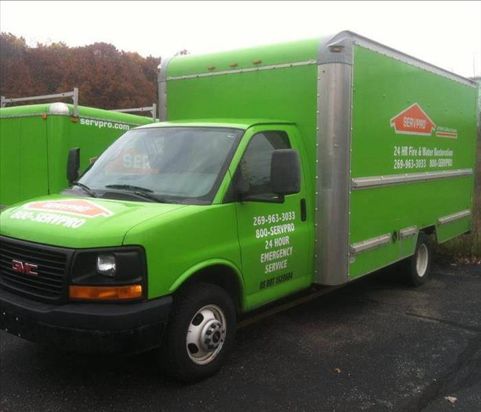 SERVPRO Vehicle