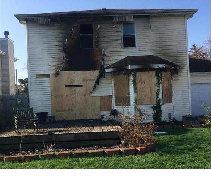 Fire Damage Board Ups: What They Are, Why They Happen